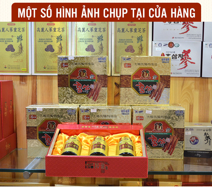 Cao hong sam 6 nam tuoi Han Quoc, cong dung cua cao hong sam 6 nam tuoi Han Quoc, cach dung cao hong sam 6 nam tuoi Han Quoc