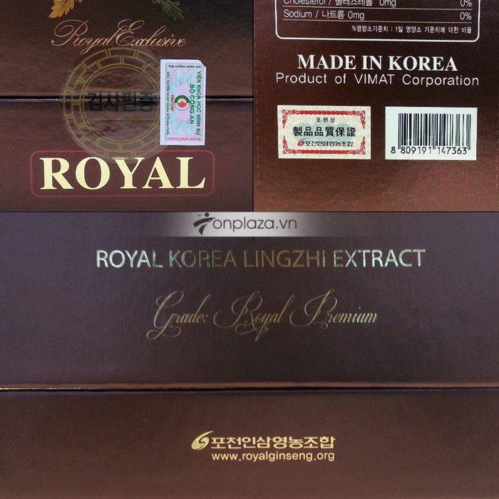 Cao linh chi KOREA LINGZHI MUSHROOM EXTRACT 4