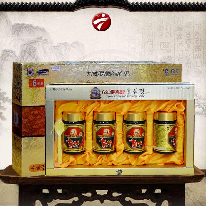 Cao hồng sâm Hanil Hàn Quốc hộp 4 lọ