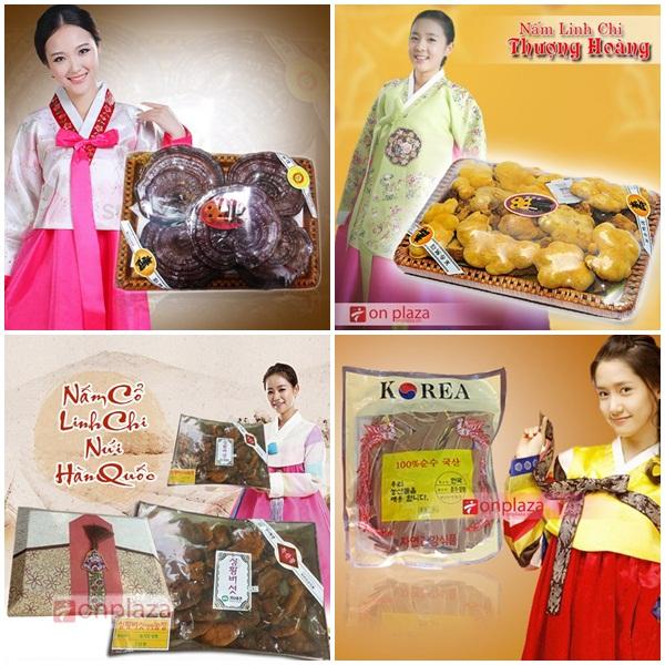 """Một số sản phẩm nấm linh chi Hàn Quốc """" xịn"""""""