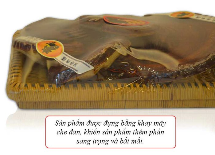 Nấm linh chi đỏ dạng khay L003