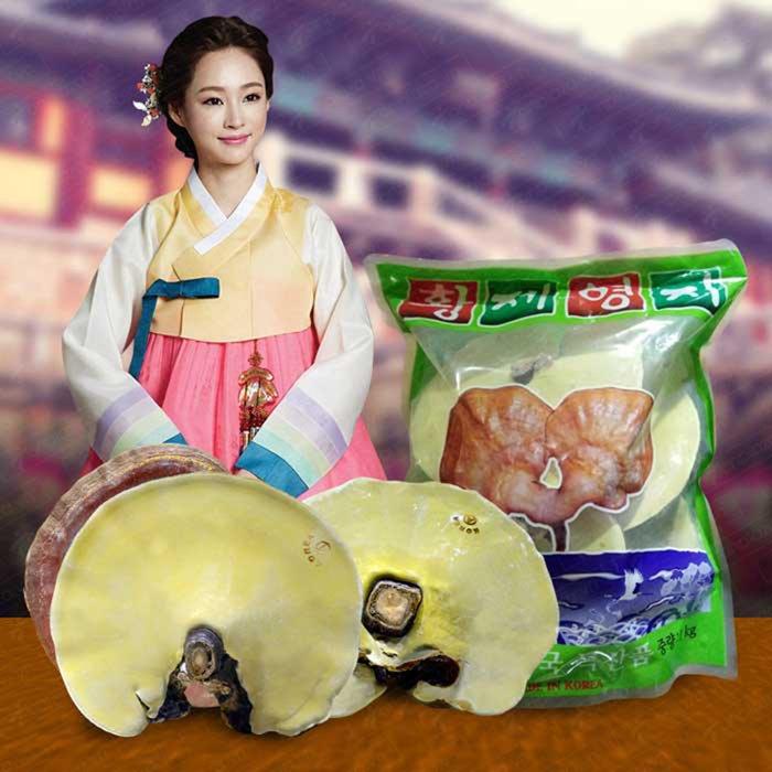 nấm linh chi vàng được ưa chuộng trên thị trường