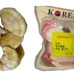 So sanh về Nấm linh chi vàng và đỏ Hàn Quốc
