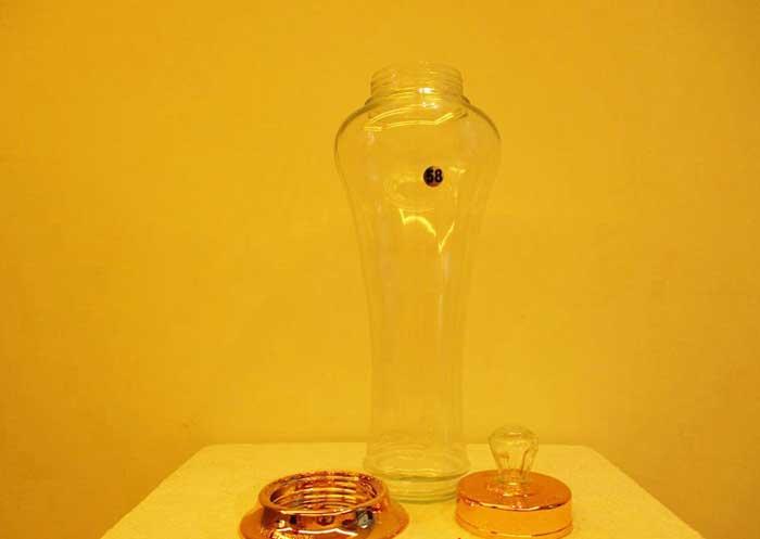 Bình thủy tinh dùng ngâm rượu sâm Hàn Quốc
