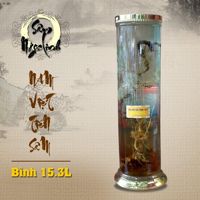Bình sâm ngọc linh KG18 15.3L cao cấp