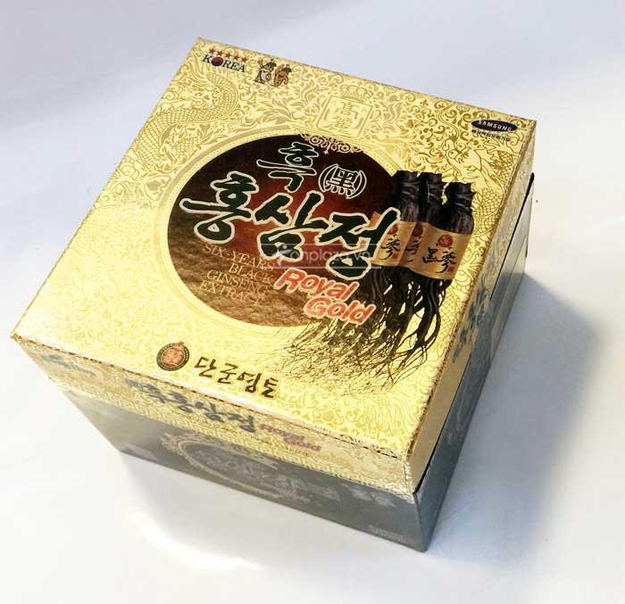 Cao hắc hồng sâm Hàn Quốc hộp 1kg 1