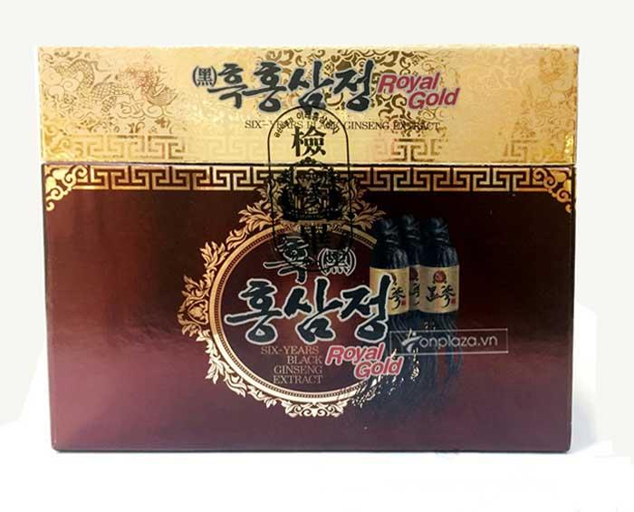 Cao hắc hồng sâm Hàn Quốc hộp 1kg 3