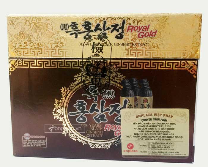 Cao hắc hồng sâm Hàn Quốc hộp 1kg 4