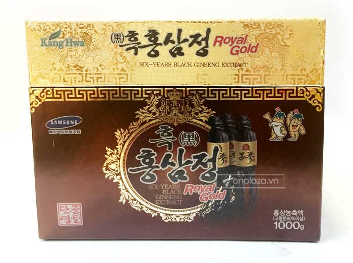 Cao hắc hồng sâm Hàn Quốc hộp 1kg 5