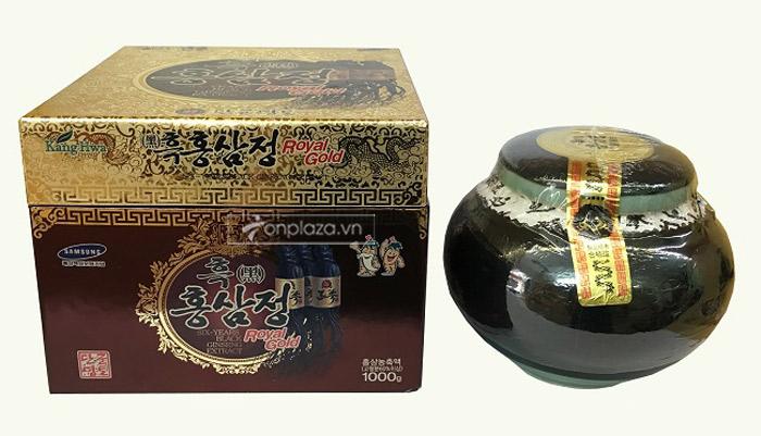 Cao hắc hồng sâm Hàn Quốc hộp 1kg 7