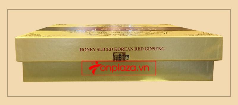 Hồng Sâm lát tẩm mật ong BIO APGOLD Hàn Quốc 3