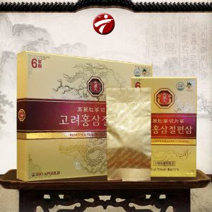 Hồng Sâm lát tẩm mật ong BIO APGOLD Hàn Quốc