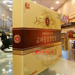 Hồng Sâm lát tẩm mật ong BIO APGOLD Hàn Quốc 6