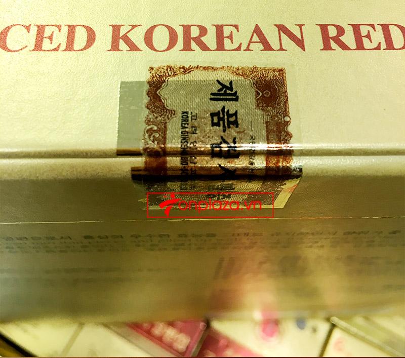 Hồng Sâm lát tẩm mật ong BIO APGOLD Hàn Quốc NS030 7