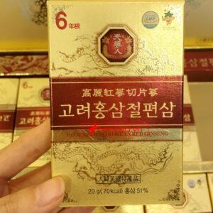 Hồng Sâm lát tẩm mật ong BIO APGOLD Hàn Quốc NS030 8