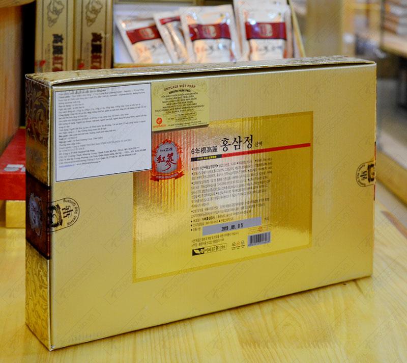 Cao hồng sâm Hanil Hàn Quốc hộp 4 lọ NS033 4