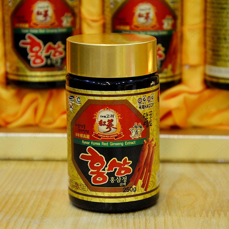 Cao hồng sâm Hanil Hàn Quốc hộp 4 lọ NS033 6