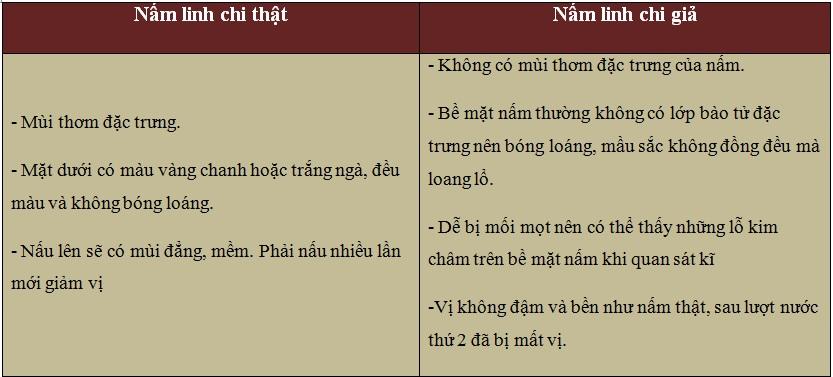 Làm thế nào phân biệt nấm linh chi thật và giả 3