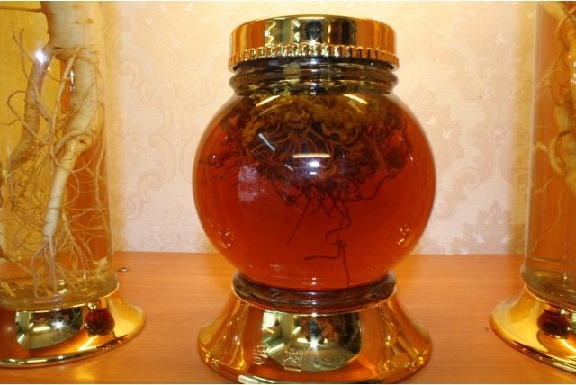 Cách ngâm rượu đông trùng hạ thảo bằng bình thủy tinh Hàn Quốc