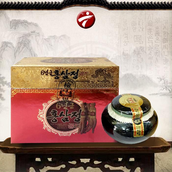 Cao hồng sâm Hàn Quốc hộp sứ xanh 1kg NS034