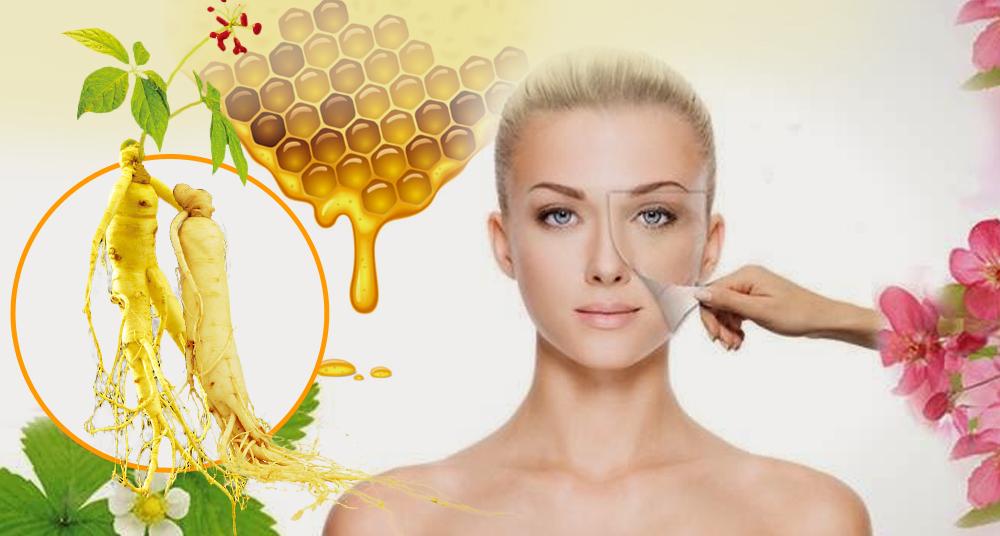 Chống lão hóa da hoàn hảo với nhân sâm Hàn quốc ngâm mật ong 3