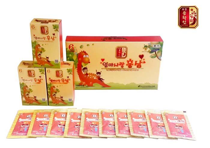 Hồng sâm trẻ em Pocheon 30 gói NS285 4