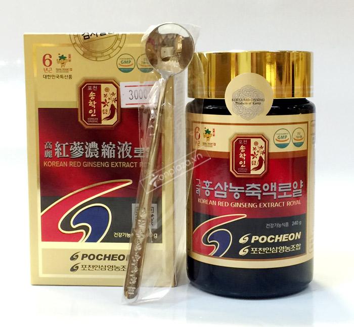 POCHEON Cao hồng sâm cao ly 100% 240g NS290 3