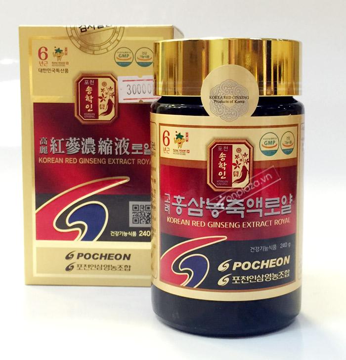 POCHEON Cao hồng sâm cao ly 100% 240g NS290 7
