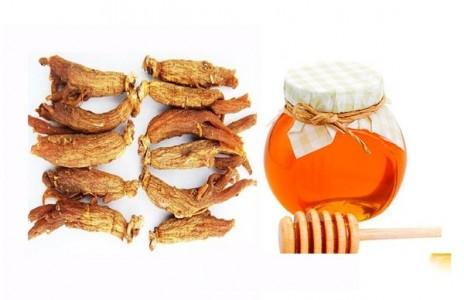 Phương pháp ngâm nhân sâm khô với mật ong đạt chất lượng