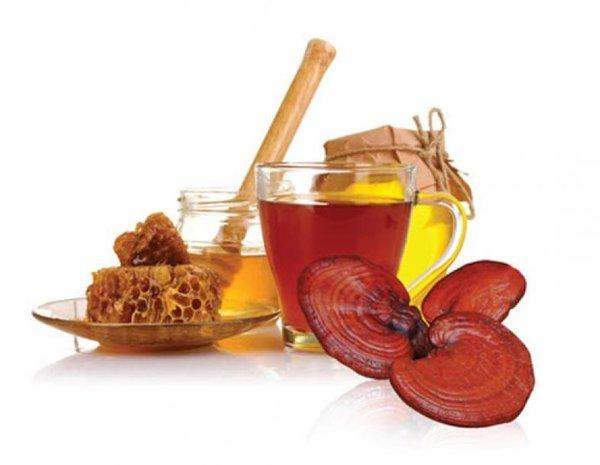 Tác dụng bất ngờ khi kết hợp nấm linh chi và mật ong 1