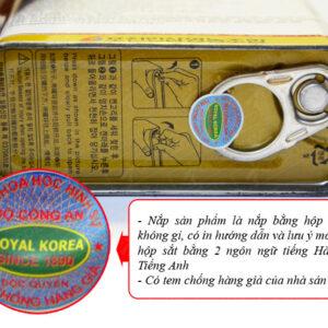 Hồng sâm nguyên củ sấy khô 75gr/ hộp ROYAL NS073 4