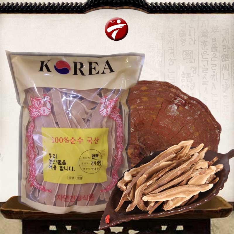 Nấm linh chi Đỏ thái lát (1kg/túi) L004