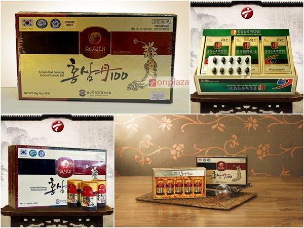 nhân sâm Hàn Quốc dạng viên có nhiều loại với thành phần khác nhau