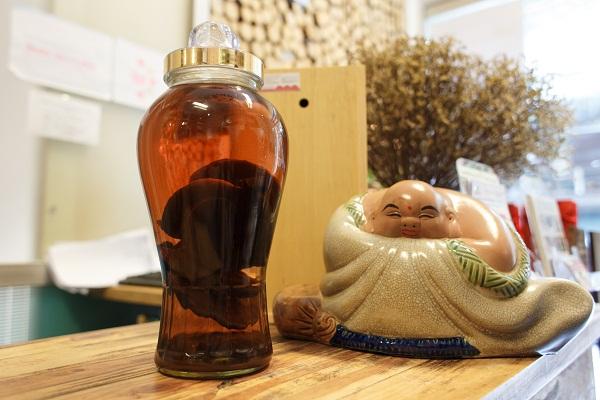 Rượu nấm linh chi giúp tăng cường sức khỏe cho con người