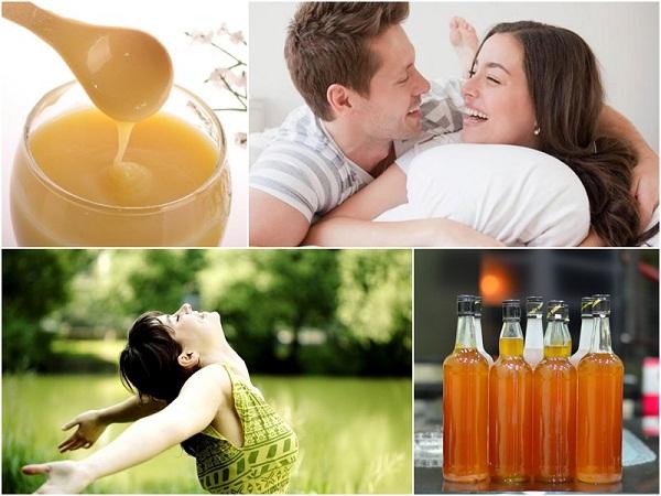 rượu sữa ong chúa tốt cho sức khỏe người sử dụng