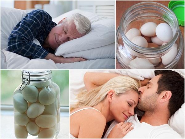 rượu trứng gà giúp tăng cường sinh lí và ngủ ngon giấc