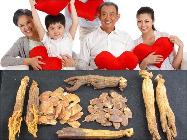 tính chất nhân sâm có những tác dụng tốt với sức khỏe