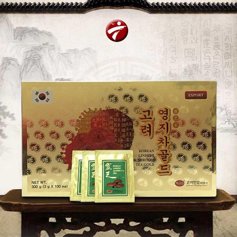 Trà Linh chi KGS hộp giấy 100 gói x 3gr L036