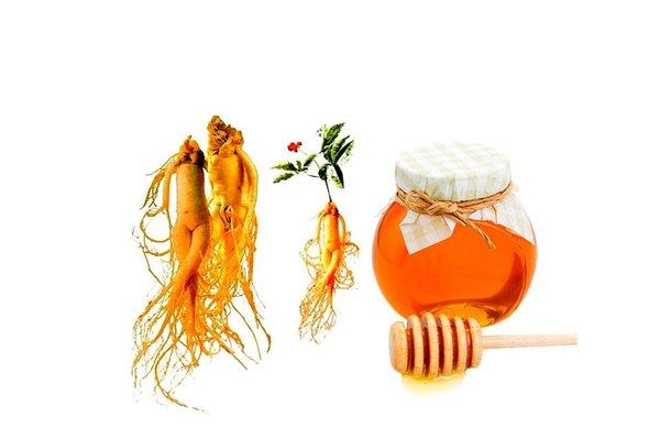 4 công thức sử dụng nhân sâm với mật ong dạng cao