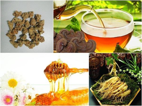 nấm linh chi có thể kết hợp với các thảo dược khác