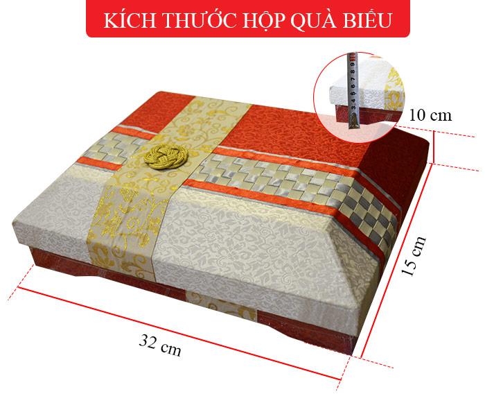 Sâm nguyên củ tẩm mật ong hộp quà 450g ( 13 củ ) NS349 6