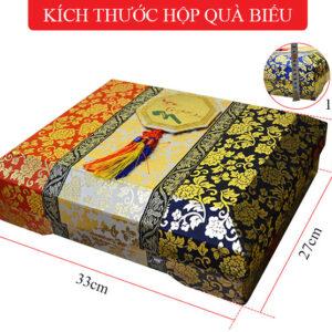 Sâm nguyên củ tẩm mật ong hộp quà 800g (22 củ) NS343 6