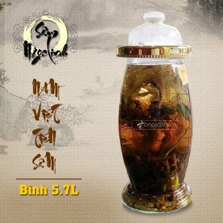 Bình sâm Ngọc Linh KG13 loại 5,7 lít NS300