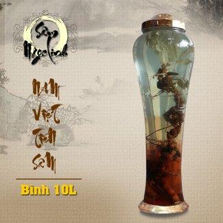 Bình ngâm sâm Ngọc Linh KG18 loại 10L NS232