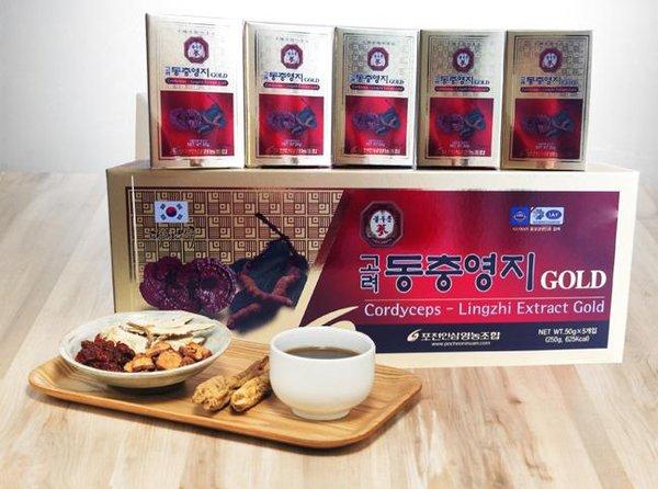 Cao linh chi Hàn Quốc chăm sóc sức khỏe rất tốt