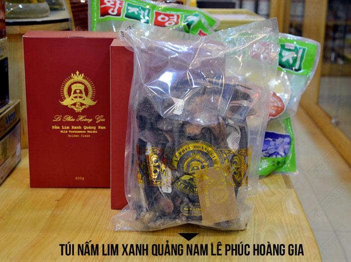 Nấm lim xanh Quảng Nam Lê Phúc Hoàng Gia 400g L302 4