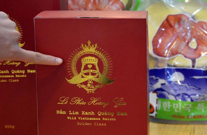 Nấm lim xanh Quảng Nam Lê Phúc Hoàng Gia 400g L302 6