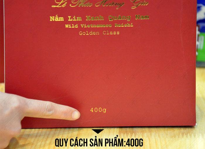 Nấm lim xanh Quảng Nam Lê Phúc Hoàng Gia 400g L302 7