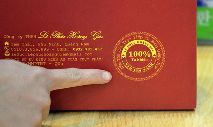 Nấm lim xanh Quảng Nam Lê Phúc Hoàng Gia 400g L302 8