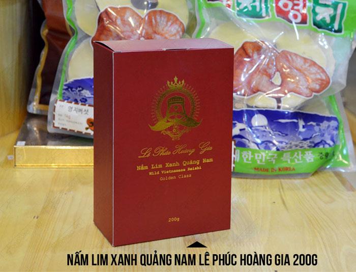Nấm Lim xanh Quảng Nam Lê Phúc Hoàng Gia 200g L303 2